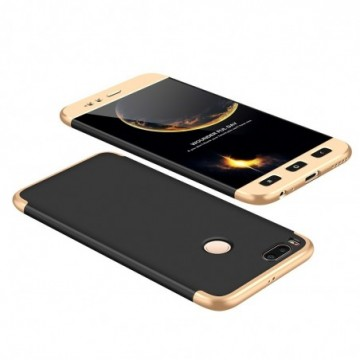 GKK 360 Protection Case Full Cover Xiaomi Mi A1 / Mi 5X black-gold