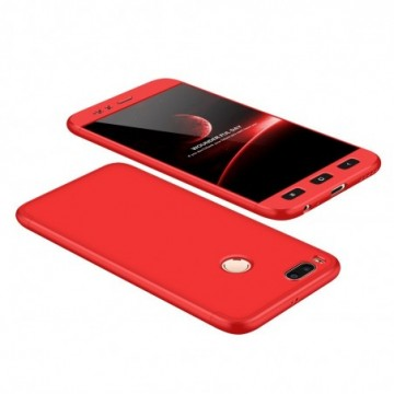GKK 360 Protection Case Full Cover Xiaomi Mi A1 / Mi 5X red