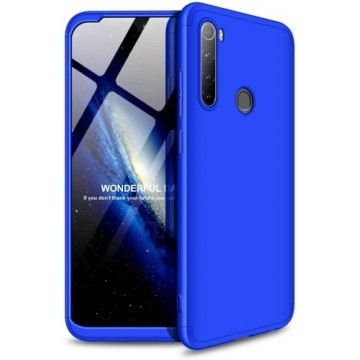GKK 360 Protection Case Full Cover Xiaomi Redmi Note 8T blue