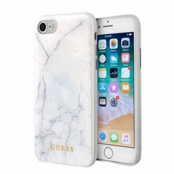 Guess GUHCI8HYMAWH iPhone 7/8 white Marble