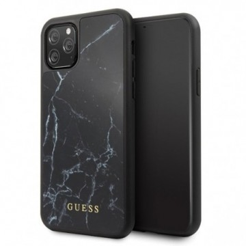 Guess GUHCN58HYMABK iPhone 11 Pro black Marble