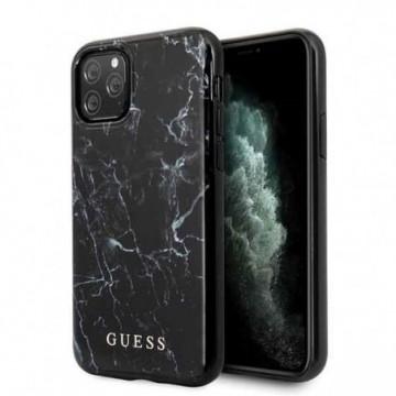 Guess GUHCN58PCUMABK iPhone 11 Pro black Marble