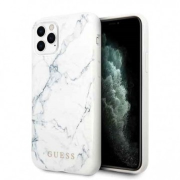 Guess GUHCN58PCUMAWH iPhone 11 Pro white Marble