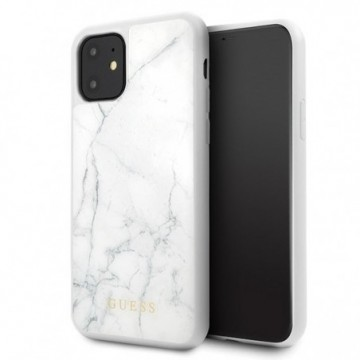 Guess GUHCN61HYMAWH iPhone 11 white Marble