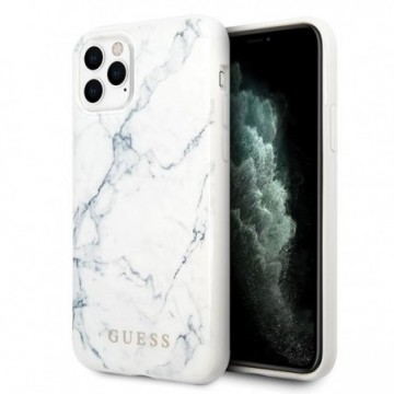 Guess GUHCN65PCUMAWH iPhone 11 Pro Max white Marble