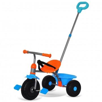 Παιδικό τρίκυκλο ποδήλατο 527201 2 σε 1 Πορτοκαλί