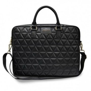 "Guess Torba GUCB15QLBK 15"" black Quilted"