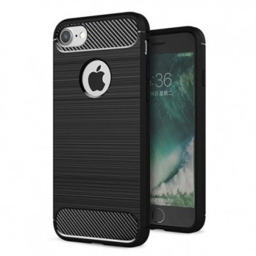 Carbon Case Flexible Cover Case for iPhone 6S / 6 black