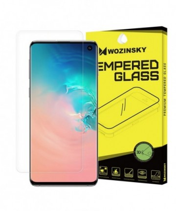 Wozinsky 3D Screen Protector Film Full Coveraged for Samsung Galaxy S10 (in-display fingerprint sensor friendly)