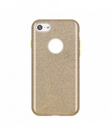 Wozinsky Glitter Shining Cover for Apple iPhone 8 / 7 golden