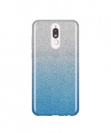 Wozinsky Glitter Shining Cover for Huawei Mate 10 Lite blue