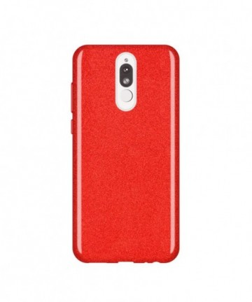 Wozinsky Glitter Shining Cover for Huawei Mate 10 Lite red