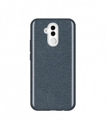 Wozinsky Glitter Shining Cover for Huawei Mate 20 Lite black