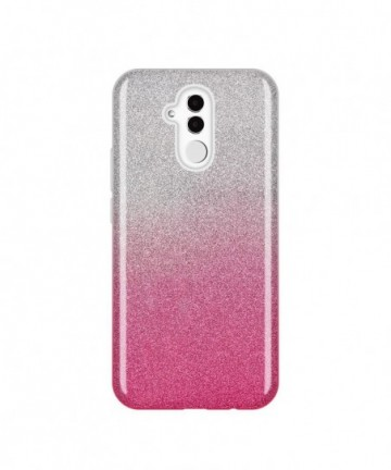 Wozinsky Glitter Shining Cover for Huawei Mate 20 Lite pink