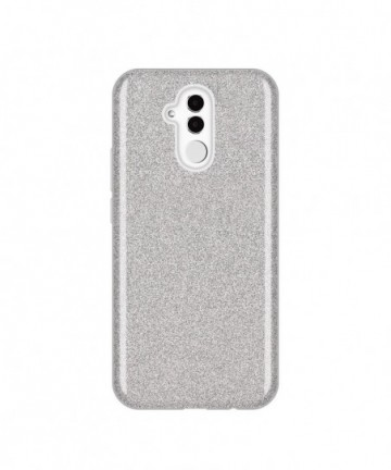 Wozinsky Glitter Shining Cover for Huawei Mate 20 Lite silver