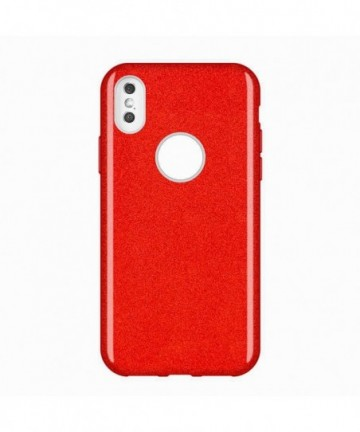 Wozinsky Glitter Shining Cover for Huawei Mate 30 Lite red
