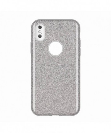 Wozinsky Glitter Shining Cover for Huawei Mate 30 Lite silver