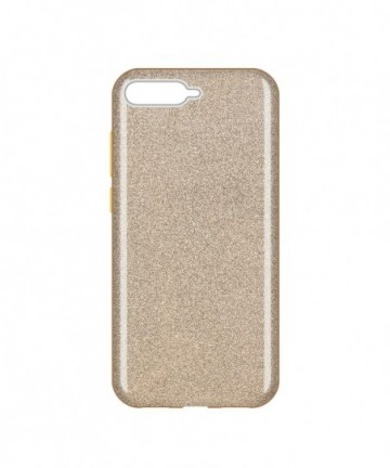 Wozinsky Glitter Shining Cover for Huawei Y6 2018 golden