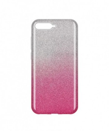 Wozinsky Glitter Shining Cover for Huawei Y6 2018 pink