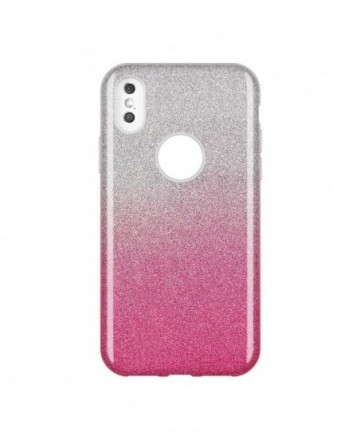 Wozinsky Glitter Shining Cover for Huawei Y7 2019 / Y7 Prime 2019 pink