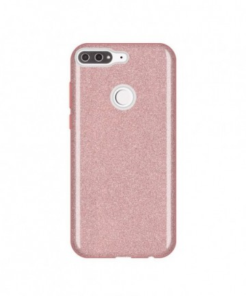 Wozinsky Glitter Shining Cover for Huawei Y7 Prime 2018 light pink