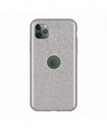 Wozinsky Glitter Shining Cover for iPhone 11 Pro Max silver