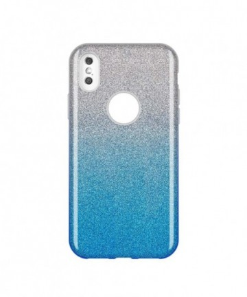 Wozinsky Glitter Shining Cover for iPhone XS Max blue