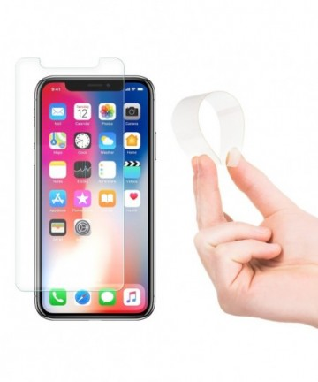 Wozinsky Nano Flexi Glass Hybrid Screen Protector tempered glass for iPhone 11 Pro / iPhone XS / iPhone X