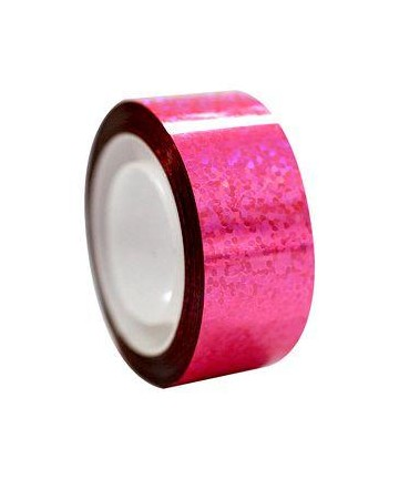 Αυτοκόλλητη ταινία Diamond με μεταλλικό χρώμα, fluo ροζ (54.00244)
