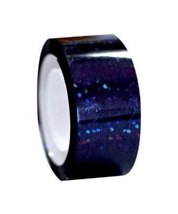 Αυτοκόλλητη ταινία Diamond με μεταλλικό χρώμα, μαύρη (54.00248)