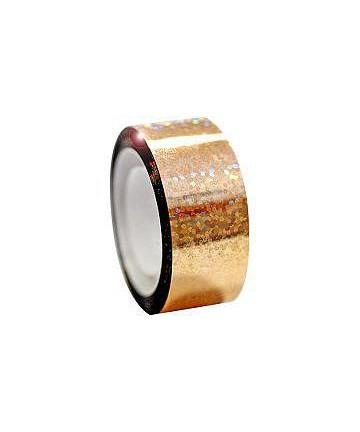 Αυτοκόλλητη ταινία Diamond με μεταλλικό χρώμα, χρυσαφί (54.00242)
