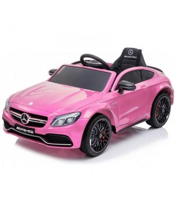Ηλεκτροκίνητο Mercedes Benz C63 Original  5246063 Ροζ