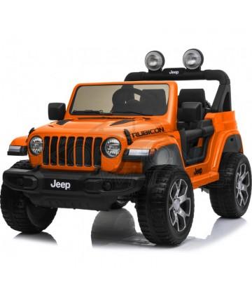 Ηλεκτροκίνητο Jeep Wrangler Rubicon 52470521 Πορτοκαλί