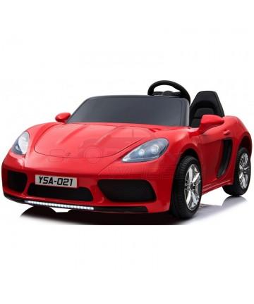 Ηλεκτροκίνητο Porsche Style 5249012 Κόκκινο