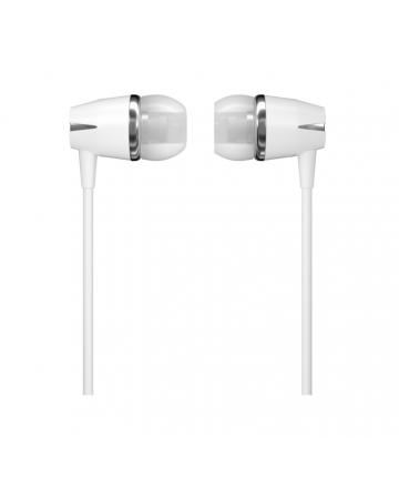 WK Design Y6 In-Ear Handsfree Ακουστικά με Ενσωματωμένο Μικρόφωνο - White