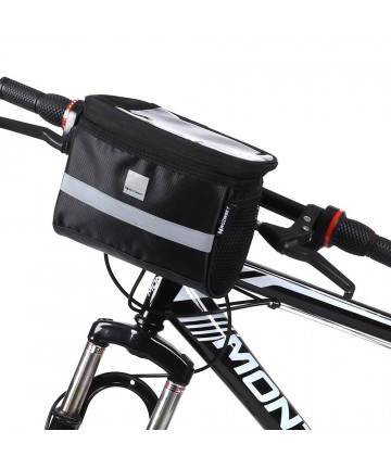Wozinsky bicycle handlebar bag 2L black (WBB12BK)