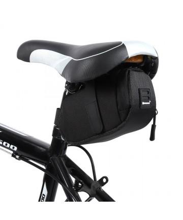 Τσαντάκι σέλας ποδηλάτου WOZINSKY, 0.6l, μαύρο (WBB8BK)