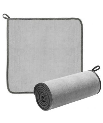 BASEUS Απορροφητική πετσέτα μικροϊνών (CRXCMJ-OG) 40 x 40cm, γκρι, 2τμχ