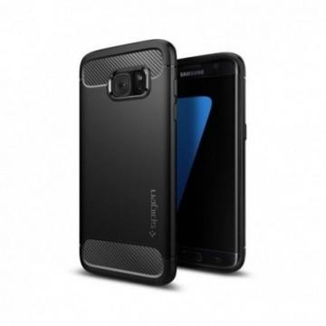 Spigen Armor Rugged Galaxy S7 Edge Black
